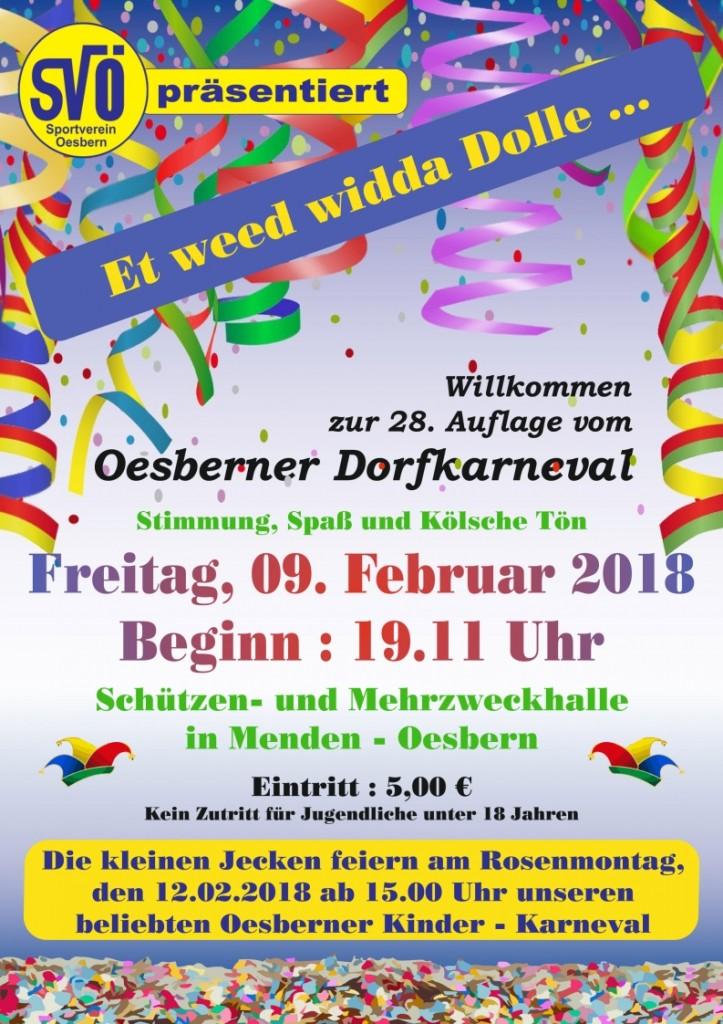Karneval SVÖ 2018